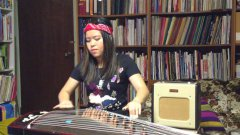 Sweet Child Of Mine covered on chinese zither guzheng