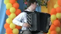 Classic Music Presto Played On Accordion