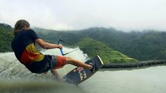 Wakeskating The Rice Terraces Of Banaue