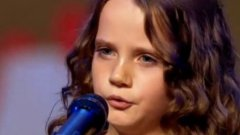 Nine Year Old Girl Sings Opera On Holland's Got Talent