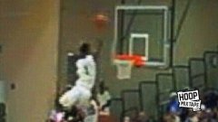 Insane Dunk Head Over The Rim