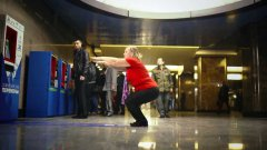 Moscow Subway Ticket Machine Accepts 30 Squats As Payment