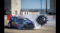 Ken Block's Gymkhana Racing Tricks