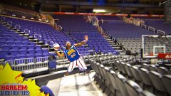 World Record Basketball Shot by Harlem Globetrotter
