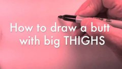 How To Draw Butts Tutorial