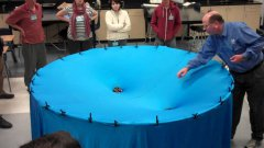 Teacher Visualizes Gravity of our Solar System