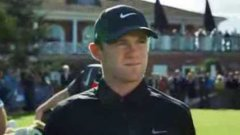 Wayne Rooney Challenges Rory McIlroy In Straight Down the Middle Nike Commercial