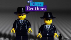 Lego Blues Brothers Mall Chase Scene