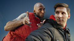 Kobe Bryant vs. Lionel Messi Selfie Contest Turkish Air Commercial
