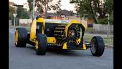 Full Sized Lego Car Powered By Air