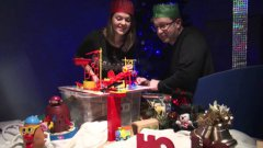 Holiday Rube Goldberg Machine