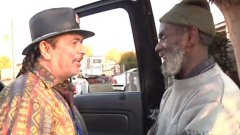 Carlos Santana Reunites With His Homeless Drummer