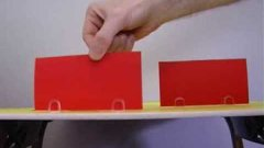 Red Card Toy Car Trick