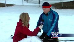 KUTV Reporter Passes Out And Falls On Air but Finishes Segment Anyways