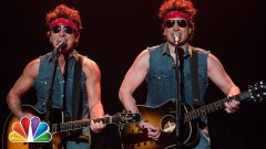 Bruce Springsteen and Jimmy Fallon - Born To Run Parody