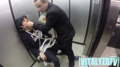 Russian Hitman Holding Hostage In Elevator Prank