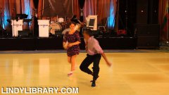 Lindy Hop Dance Routine