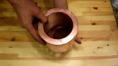 Neodymium magnet in a Thick Copper Tube