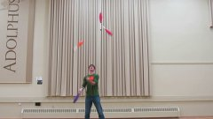 Four Juggling Masters Show Off Impressive Tricks