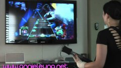 Girl Breaks Guinness World Record On Guitar Hero 3