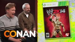 Conan Plays WWE 2K14