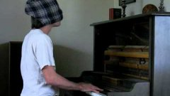 Epic Super Mario Medley On Piano Blindfolded