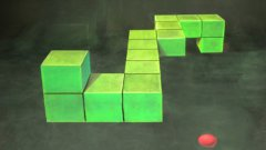Snake Game 3D Chalk Art Stop Motion