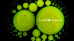 Beautiful Reactions: Dancing Fluorescent Droplets