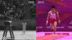 Olympics gold 80 years apart. Los Angeles 1932 – London 2012