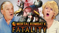 ELDERS REACT TO MORTAL KOMBAT FATALITIES
