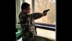 How North Koreans Shoot Guns Video