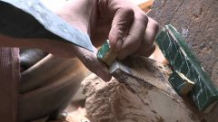 Acient and Traditional Way of Making Tiles in Morocco
