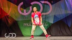 Incredible dance moves by Fik-Shun at the World of Dance Tour competition