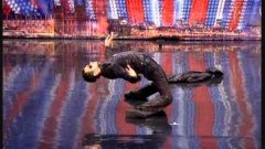 A body-popping breakdancer on Britain's Got Talent