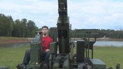 Huge 40 MM Machine Gun Cannon