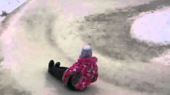 Ice Slide in Tyumen