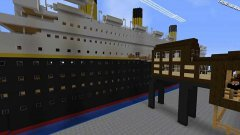 Titanic in minecraft