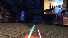 Star wars lightsaber combat in VR