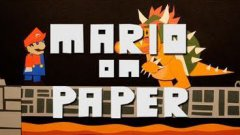 Mario Animation Made Entirely Of Paper