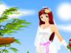 Anime Bride Dress Up