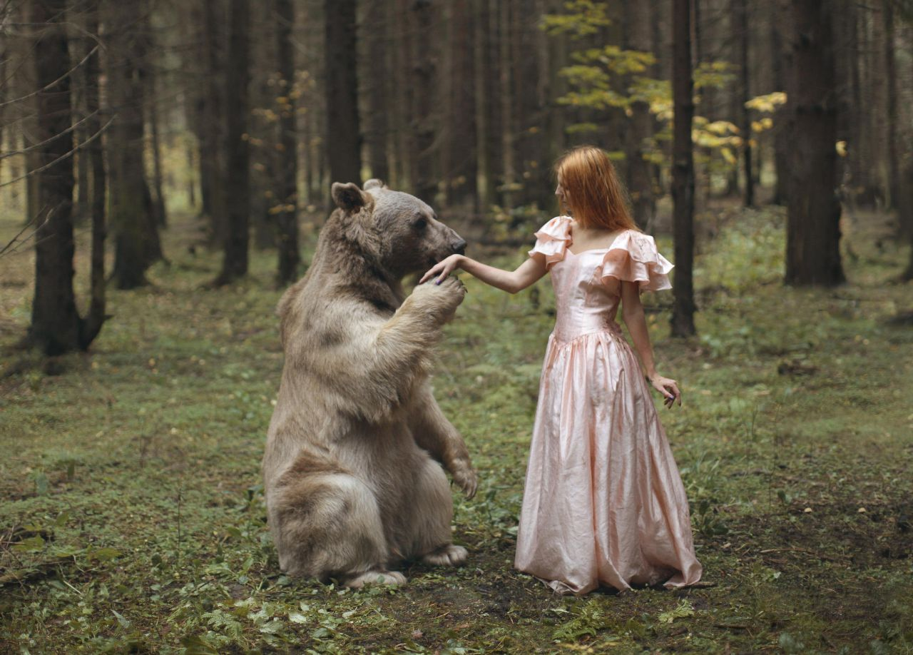 The Lady with the Bear