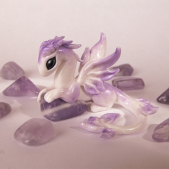 Little amethyst dragoness