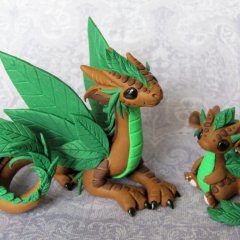 Leaf Dragons