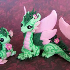 Flower Dragons