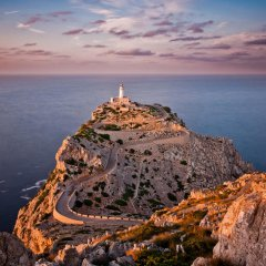 A Lovely Lighthouse In Mallorca