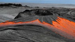 Rivers Of Molten Lava From Hawaiian Volcano Pu