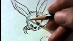 Chuck Jones Shows How To Draw Bugs Bunny