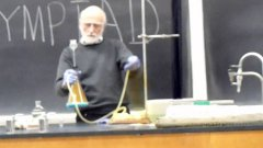 Professor Performs Exploding Chemistry Demos