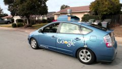 Google Self Driving Car Chauffeurs Blind Man