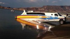 Innovative RV-boat hybrid